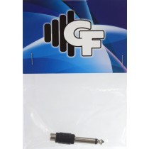 GRF CONNECTOR TRANSFORMER - RCA FEMALE X 1/4 MALE MONO