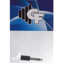 GRF CONNECTOR TRANSFORMER - 1/8 FEMALE MONO X 1/4 MALE MONO