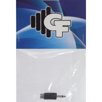 GRF CONNECTOR TRANSFORMER - RCA X 1/8 MALE MONO