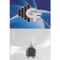 GRF COUPLER TRANSFORMER - RCA FEMALE (2X) X RCA MALE