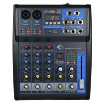 GRF M04FX-R-USB - 4 CHANNEL MIXER