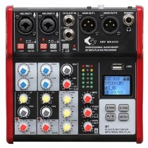 A MIXER M400FX/BT/MP3 - WITH 4 CHANNEL - BLUETOOTH - MP3 - EFFECTS & RECORDING FUNCTION