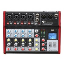 A MIXER M600FX/BT/MP3 - WITH 6 CHANNEL - BLUETOOTH - MP3 - EFFECTS & RECORDING FUNCTION