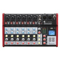 A MIXER M800FX/BT/MP3 - WITH 8 CHANNEL - BLUETOOTH - MP3 - EFFECTS & RECORDING FUNCTION