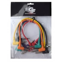 *NEW* GROOVE FACTORY PATCH CABLE SET - 1 FOOT