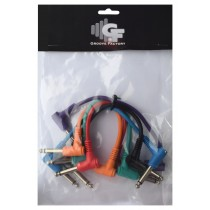 *NEW* GROOVE FACTORY PATCH CABLES SET - 6 INCHES
