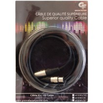 GROOVE FACTORY SUPERIOR QUALITY XLR TO XLR CABLE - 25 FEET