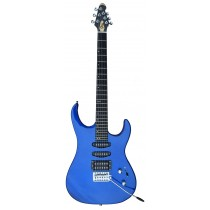 A GUSON by GROOVE Single/Single/Humbucker pickups Electric guitar Blue Color