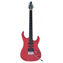 A GUSON by GROOVE Single/Single/Humbucker pickups Electric guitar RED Color