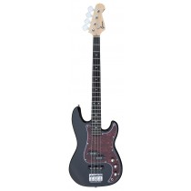A PJ Bass Guitar 4 Strings (Jazz & Precision pickups) into Black Color