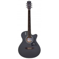Handel HG380-40 / 40'' Spruce Top Acoustic Guitar - Black