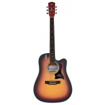 Handel HG380-41 / 41'' Spruce Top Acoustic Guitar - Sunburst