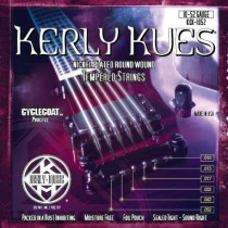 KERLY KUES ELECTRIC GUITAR STRINGS - KQX-1052 - LIGHT TOP/HEAVY BOTTOM