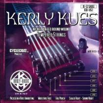 KERLY KUES ELECTRIC GUITAR STRINGS - KQX-1052 - LIGHT TOP/HEAVY BOTTOM