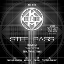 Kerly Steel Bass - Stainless Steel Electric Bass Strings - 45-105