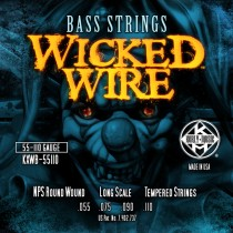 Kerly Bass Strings - Wicked Wire Series - 55-110