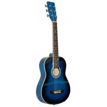 MADERA 32'' KIDS ACOUSTIC GUITAR - BLUE BURST