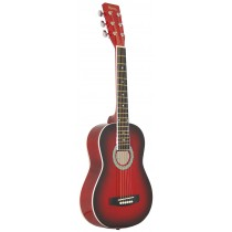 MADERA 32'' KIDS ACOUSTIC GUITAR - RED BURST