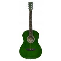 MADERA LD381 38'' ACOUSTIC KIDS GUITAR - GREEN