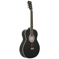 MADERA LD381 38'' ACOUSTIC KIDS GUITAR - BLACK