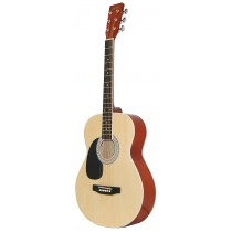 MADERA LD381 38'' LEFT HANDED ACOUSTIC KIDS GUITAR - NATURAL