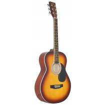 MADERA LD381 38'' ACOUSTIC KIDS GUITAR - SUNBURST