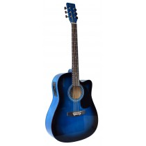 MADERA SP411CE - ELECTRO-ACOUSTIC 41'' GUITAR - BLUE BURST