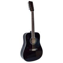 MADERA SPRUCE TOP --- 12 STRINGS GUITAR  - BLACK