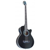 MADERA AB470CE ACOUSTIC BASS WITH PICKUP - BLACK