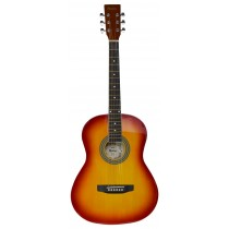 MADERA LD381 38'' ACOUSTIC KIDS GUITAR - CHERRY BURST