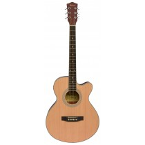 MADERA MA2000C ACOUSTIC FOLK GUITAR - MATTE NATURAL