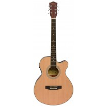 MADERA MA2000CE ACOUSTIC FOLK GUITAR WITH PICKUP - MATTE NATURAL