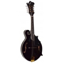 LeMarquis MF2000 F SHAPE MANDOLIN IN BLACK