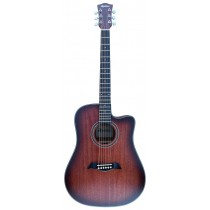 ACOUSTIC MMHR2024 ALL-MAHOGANY OPEN PORE MATTE - C-RED FINISH