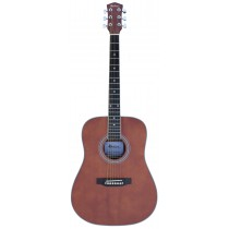 MADERA OK3000C ACOUSTIC GUITAR - BROWN SATIN MATTE