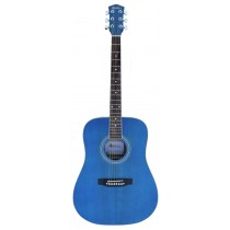 MADERA OK3000C ACOUSTIC GUITAR - BLUE MATTE SATIN