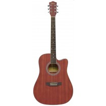 MADERA OK3000C ACOUSTIC GUITAR - MATTE NATURAL BROWN