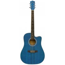 MADERA PH1000C ACOUSTIC GUITAR - MATTE BLUE