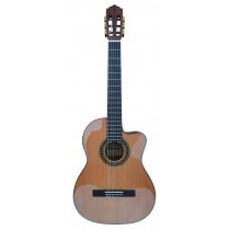 MADERA SCEMAH39CEQ SOLID TOP CLASSICAL GUITAR WITH PICKUP