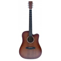 MADERA SMAMAH41CEQ SOLID TOP FULL SIZE ACOUSTIC GUITAR WITH PICKUP