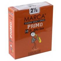 Marca - Alto Saxophone Reeds (Box of 10) - 2 1/2