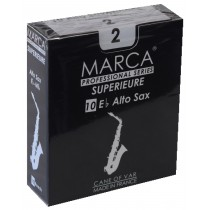 Marca Superieure - Professional Alto Saxophone Reeds (Box of 10) - 2