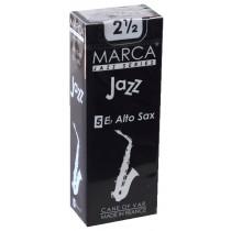Marca Jazz Series - Alto Saxophone Reeds (Box of 5) - 2 1/2