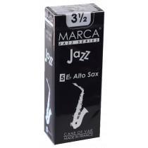 Marca Jazz Series - Alto Saxophone Reeds (Box of 5) - 3 1/2