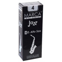 Marca Jazz Series - Alto Saxophone Reeds (Box of 5) - 4