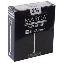 Marca Superieure - Professional Clarinet Reeds (Box of 10) - 2 1/2
