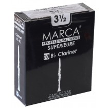 Marca Superieure - Professional Clarinet Reeds (Box of 10) - 3 1/2