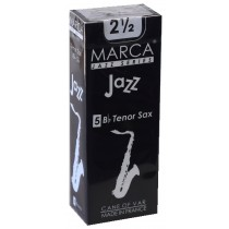 Marca Jazz Series - Tenor Saxophone Reeds (Box of 5) - 2 1/2
