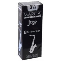 Marca Jazz Series - Tenor Saxophone Reeds (Box of 5) - 3 1/2