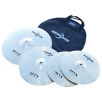 Meridian Moon Series - Set of 4 cymbals with gigbag